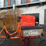 Freies E-Lastenrad Clara am ZAE Bayern in Würzburg
