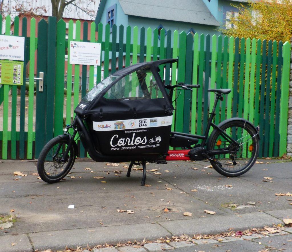 Carlos - Freies Lastenrad Würzburg