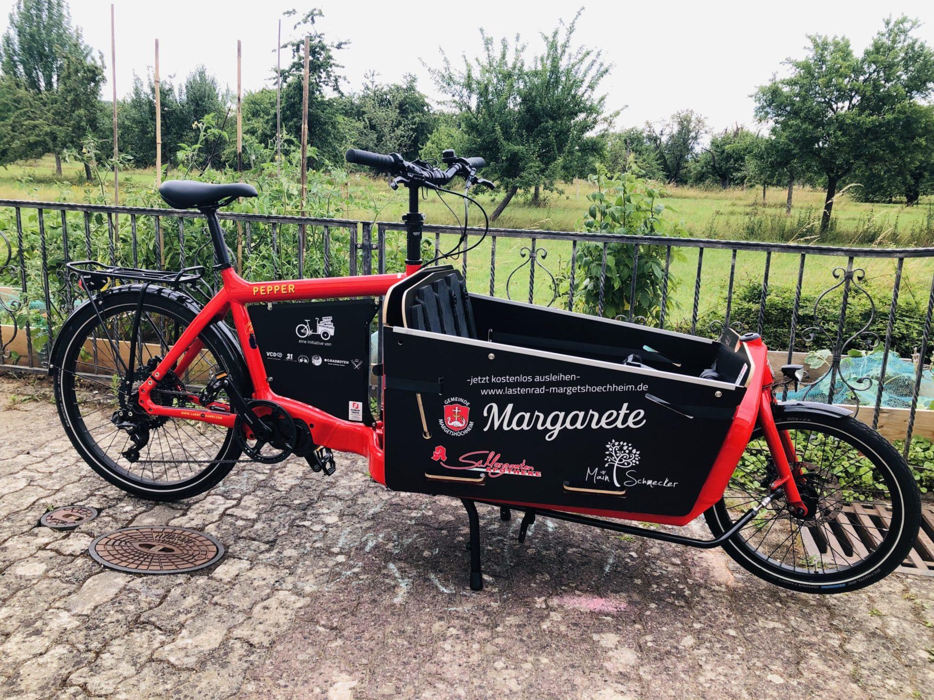 Margarete - Lastenrad Würzburg
